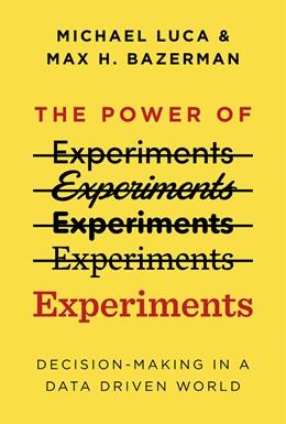 Abbildung von Luca / Bazerman   Power of Experiments   1. Auflage   2020   beck-shop.de