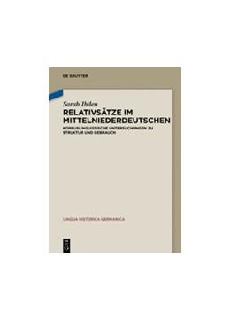 Abbildung von Ihden | Relativsätze im Mittelniederdeutschen | 1. Auflage | 2020 | 23 | beck-shop.de
