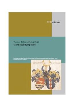 Abbildung von Leonberger Symposion | 2007 | Paradigmen der Familienforschu...