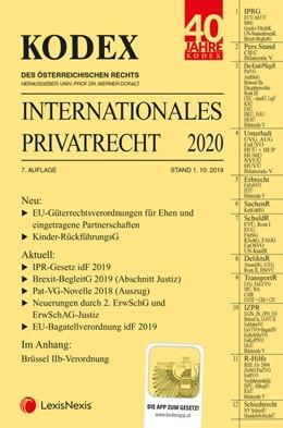 Abbildung von Doralt   KODEX Internationales Privatrecht 2020   7. Auflage   2019