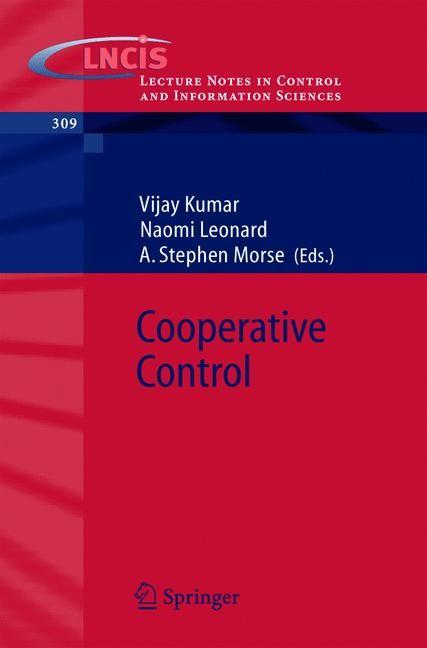 Abbildung von Kumar / Leonard / Morse | Cooperative Control | 2004