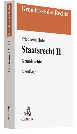 Abbildung von Hufen | Staatsrecht II | 8. Auflage | 2020 | beck-shop.de