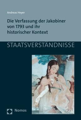 Abbildung von Heyer | Die Verfassung der Jakobiner von 1793 und ihr historischer Kontext | 1. Auflage | 2019 | beck-shop.de
