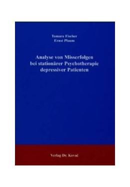 Abbildung von Fischer / Plaum | Analyse von Misserfolgen bei stationärer Psychotherapie depressiver Patienten | 2004 | 9