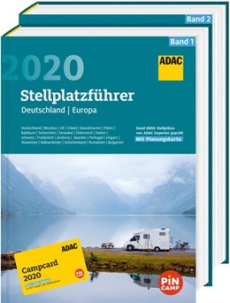 Abbildung von ADAC Stellplatzführer 2020 mit ADAC Campcard 2020 | 1. Auflage | 2020 | beck-shop.de