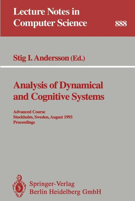 Abbildung von Andersson | Analysis of Dynamical and Cognitive Systems | 1995