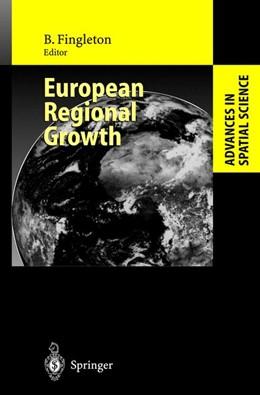 Abbildung von Fingleton | European Regional Growth | 2003
