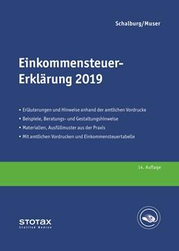 Abbildung von Schalburg / Muser   Einkommensteuer-Erklärung 2019   14. Auflage   2020   Erläuterungen, Beratungshinwei...