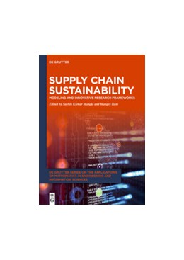 Abbildung von Mangla / Ram | Supply Chain Sustainability | 2020 | Modeling and Innovative Resear...
