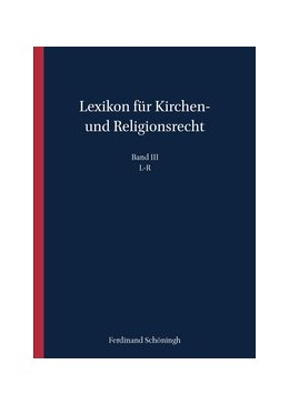 Abbildung von Hallermann / Meckel | Lexikon für Kirchen- und Religionsrecht | 1. Auflage | 2020 | 3 | beck-shop.de
