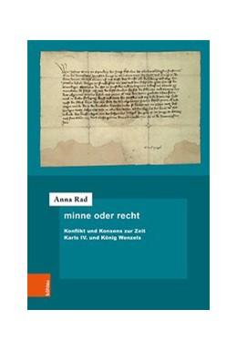 Abbildung von Rad | minne oder recht | 1. Auflage | 2020 | beck-shop.de