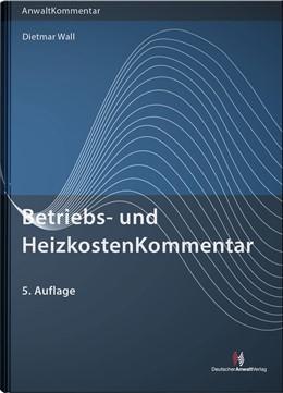 Abbildung von Wall | Betriebs- und HeizkostenKommentar | 5. Auflage | 2020 | beck-shop.de