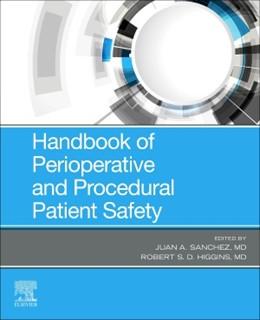 Abbildung von Sanchez | Handbook of Perioperative and Procedural Patient Safety | 2020