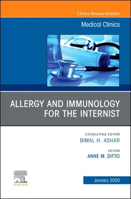 Abbildung von Ditto | Allergy and Immunology for the Internist, An Issue of Medical Clinics of North America | 2019 | 104-1