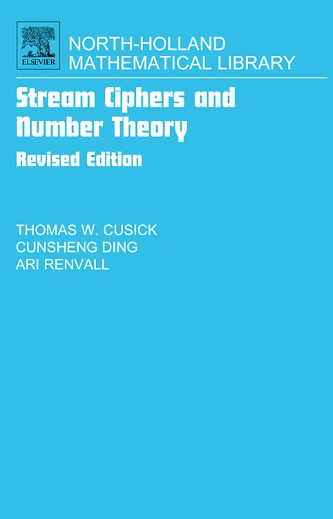 Abbildung von Cusick / Ding / Renvall | Stream Ciphers and Number Theory | 2004