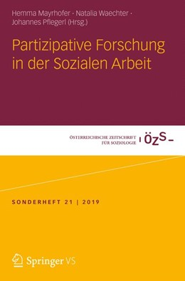 Abbildung von Mayrhofer / Waechter / Pflegerl | Partizipative Forschung in der Sozialen Arbeit | 2020