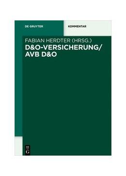 Abbildung von Herdter | D&O-Versicherung/AVB D&O | 1. Auflage | 2022 | beck-shop.de