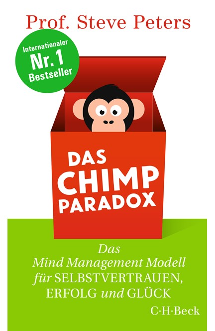 Cover: Steve Peters, Das Chimp Paradox