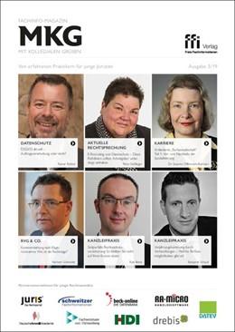 Abbildung von Fachinfo-Magazin MkG • Ausgabe 05/2019 | 1. Auflage | 2019 | beck-shop.de