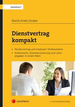 Abbildung von David / Gruber | Dienstvertrag kompakt | 2. Auflage | 2019 | beck-shop.de