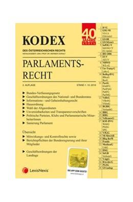 Abbildung von Doralt | KODEX Parlamentsrecht 2019/20 | 2. Auflage | 2019