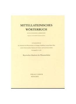 Abbildung von Mittellateinisches Wörterbuch 50. Lieferung (intrepidus - irroro) | 1. Auflage | 2020 | beck-shop.de