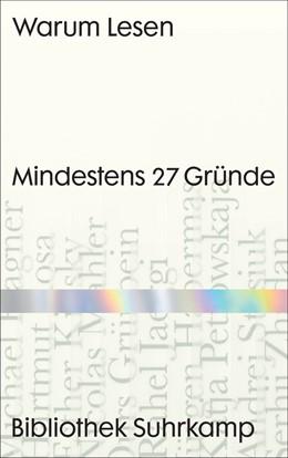 Abbildung von Wegner / Raabe | Warum Lesen | 1. Auflage | 2020 | beck-shop.de