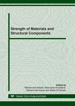 Abbildung von Abbadi / Kouddane | Strength of Materials and Structural Components | 1. Auflage | 2019 | Volume 820 | beck-shop.de