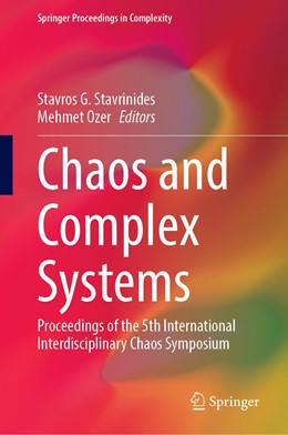 Abbildung von Stavrinides / Ozer | Chaos and Complex Systems | 1st ed. 2020 | 2020 | Proceedings of the 5th Interna...
