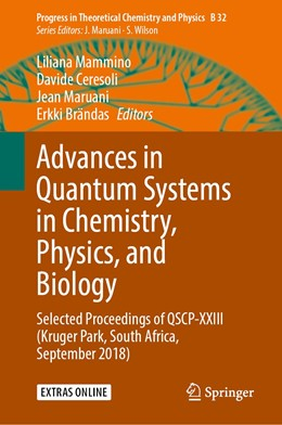 Abbildung von Mammino / Ceresoli / Maruani / Brändas | Advances in Quantum Systems in Chemistry, Physics, and Biology | 1st ed. 2020 | 2020 | Selected Proceedings of QSCP-X... | 32