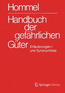 Abbildung von Holzhäuser | Handbuch der gefährlichen Güter. Erläuterungen I | 32. Auflage | 2019 | Erläuterungen und Synonymliste