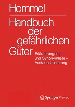 Abbildung von Holzhäuser | Handbuch der gefährlichen Güter. Erläuterungen II. Austauschlieferung, Dezember 2019 | 2020 | Gewässerverunreinigung