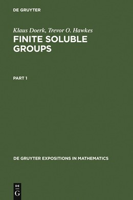 Abbildung von Doerk / Hawkes | Finite Soluble Groups | 1992 | 1992 | 4