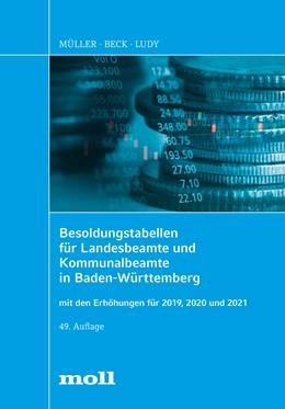 Abbildung von Ludy   Besoldungstabellen für Landesbeamte und Kommunalbeamte in Baden-Württemberg   49. Auflage   2019   beck-shop.de