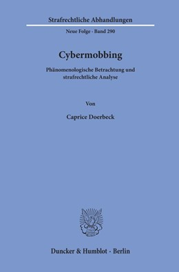 Abbildung von Doerbeck   Cybermobbing   2019   Phänomenologische Betrachtung ...   290