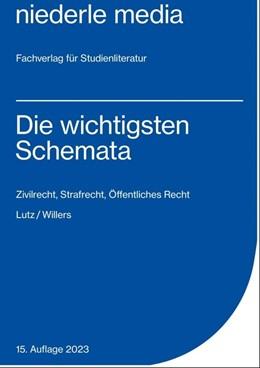 Abbildung von Lutz | Die wichtigsten Schemata | 11. Auflage | 2019 | Zivilrecht, Strafrecht, Öffent...