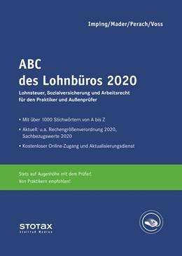 Abbildung von Mader / Perach / Voss / Imping | ABC des Lohnbüros 2020 | 2020 | Lohn- und Gehaltsabrechnung 20...
