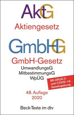 Abbildung von Aktiengesetz, GmbH-Gesetz: AktG GmbHG | 48. Auflage | 2020 | 5010 | beck-shop.de