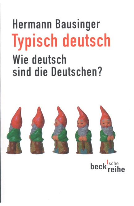 Cover: Hermann Bausinger, Typisch deutsch