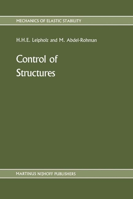 Abbildung von Leipholz / Abdel-Rohman | Control of Structures | 1986