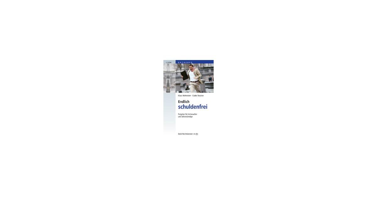 Endlich Schuldenfrei Hofmeister Stephan 4 Auflage 2019