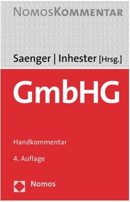 Abbildung von Saenger / Inhester (Hrsg.) | GmbHG | 4. Auflage | 2020 | beck-shop.de