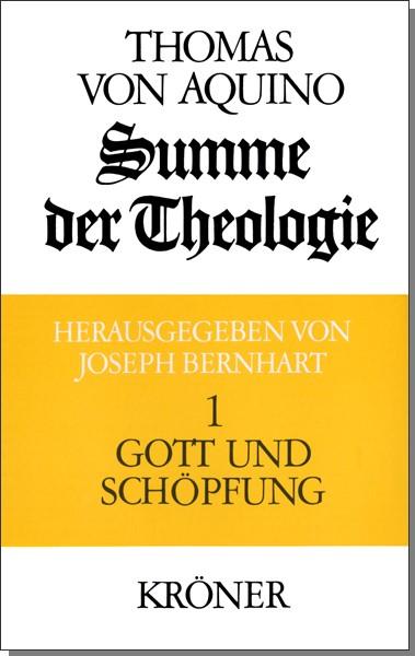Abbildung von Thomas von Aquin / Bernhart | Summe der Theologie | Neudr. der 3. Aufl. 1985 | 1985