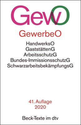 Abbildung von Gewerbeordnung: GewO | 41. Auflage | 2020 | mit Verordnungen, Handwerksord... | 5004