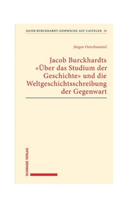Abbildung von Osterhammel | Jacob Burckhardts