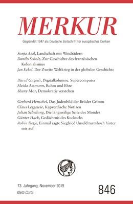 Abbildung von Demand | MERKUR Gegründet 1947 als Deutsche Zeitschrift für europäisches Denken - Nr. 846, Heft 11 / November 2019 | 1. Auflage | 2019 | beck-shop.de