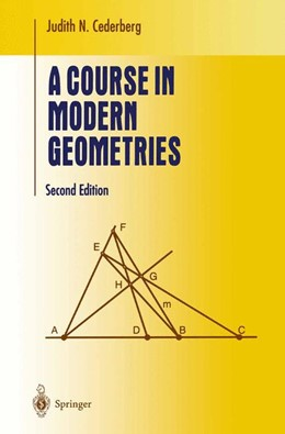 Abbildung von Cederberg | A Course in Modern Geometries | 2nd ed. 2001. Corr. 2nd printing | 2004