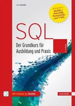 Abbildung von Adams | SQL | 3. Auflage | 2019 | beck-shop.de