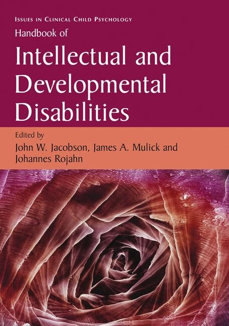 Abbildung von Jacobson / Mulick / Rojahn | Handbook of Intellectual and Developmental Disabilities | 2008