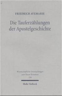 Abbildung von Avemarie | Die Tauferzählungen der Apostelgeschichte | 2002